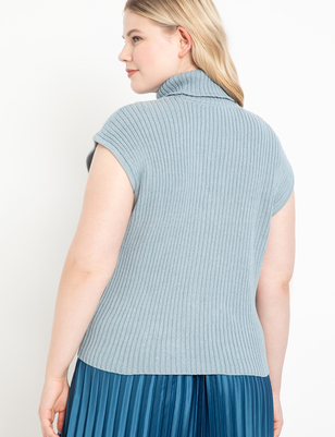 Cowl Neck Cutout Sweater