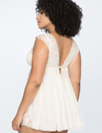 Empire Waist Babydoll Off White