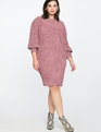 Dropped Shoulder Easy Dress Wisteria