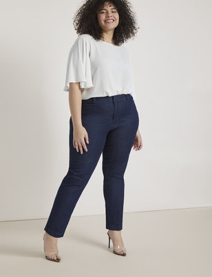Regular Fit Denim Kady Pant