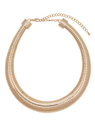 Snake Chain Statement Necklace