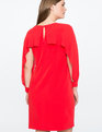 Open Sleeve Dress RED