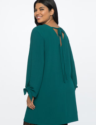 V-Back Easy Dress