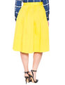Studio Midi Skirt Citron