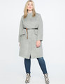 Easy Car Coat Heather Grey