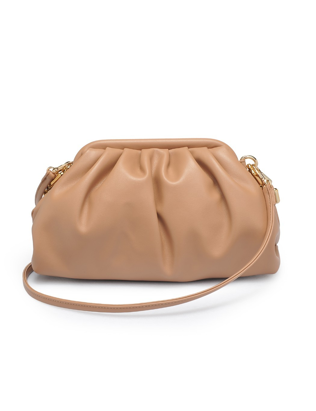 Pleated Crossbody - Extended Length