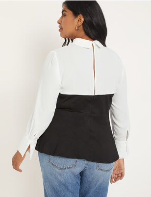 Black/White Two-fer Top