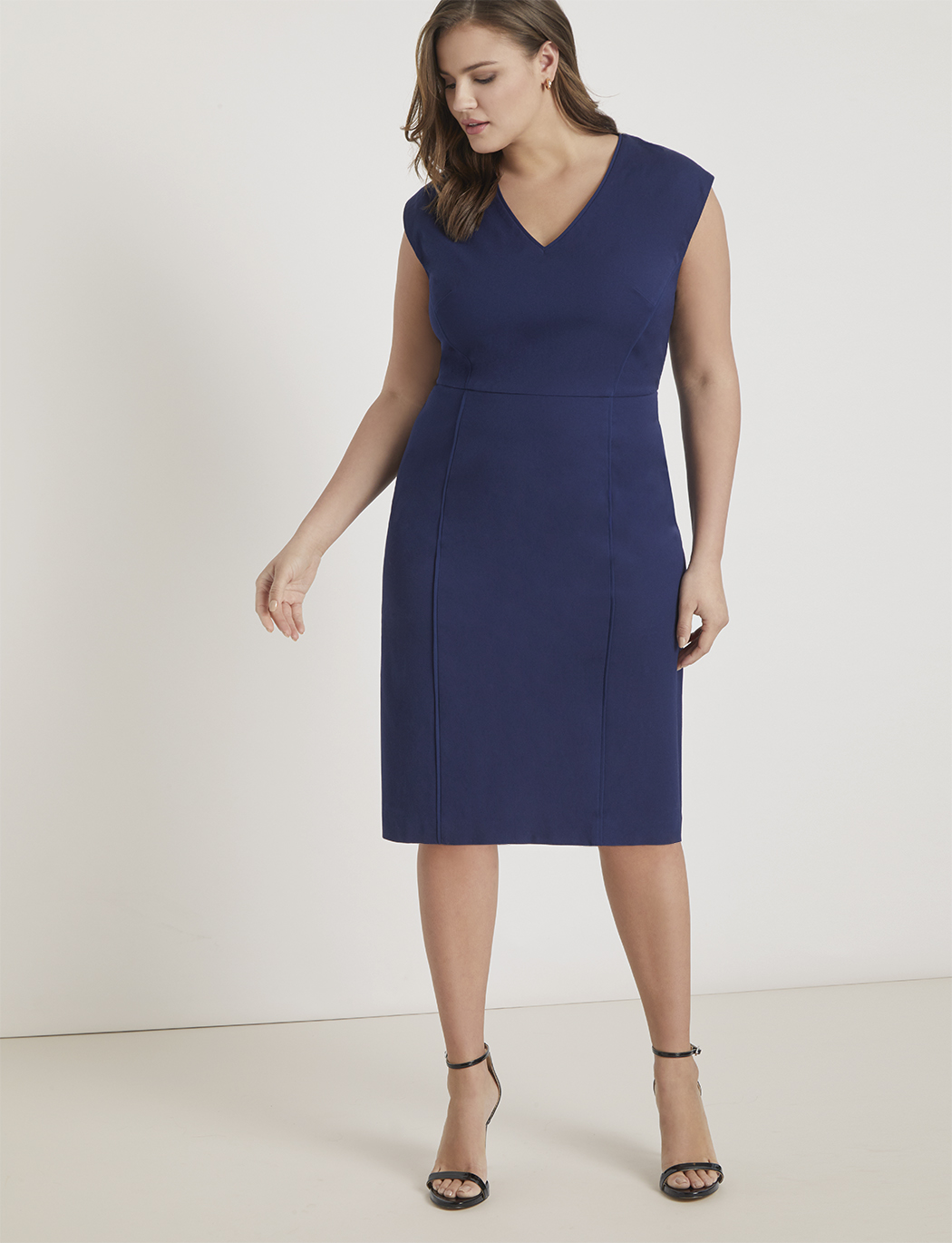 Premier Work Dress with Piping