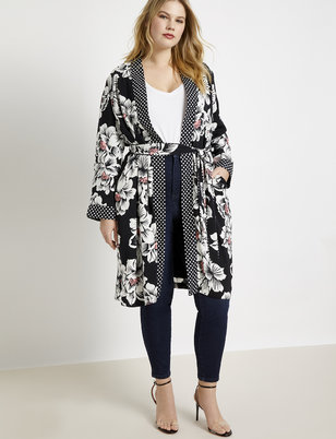 Mixed Print Duster