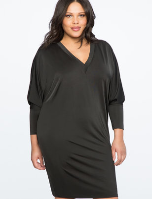 V Neck Essential Dress