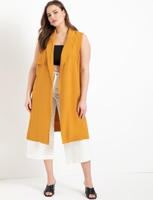 Lightweight Sleeveless Trench