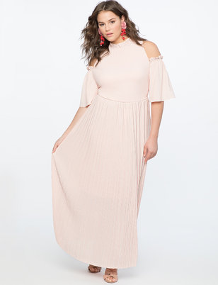Cold Shoulder Gown