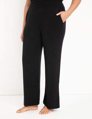 Wide Leg Knit Pants