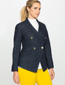 Refined Denim Military Blazer Refined Denim