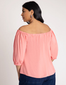 Off the Shoulder top Lantana