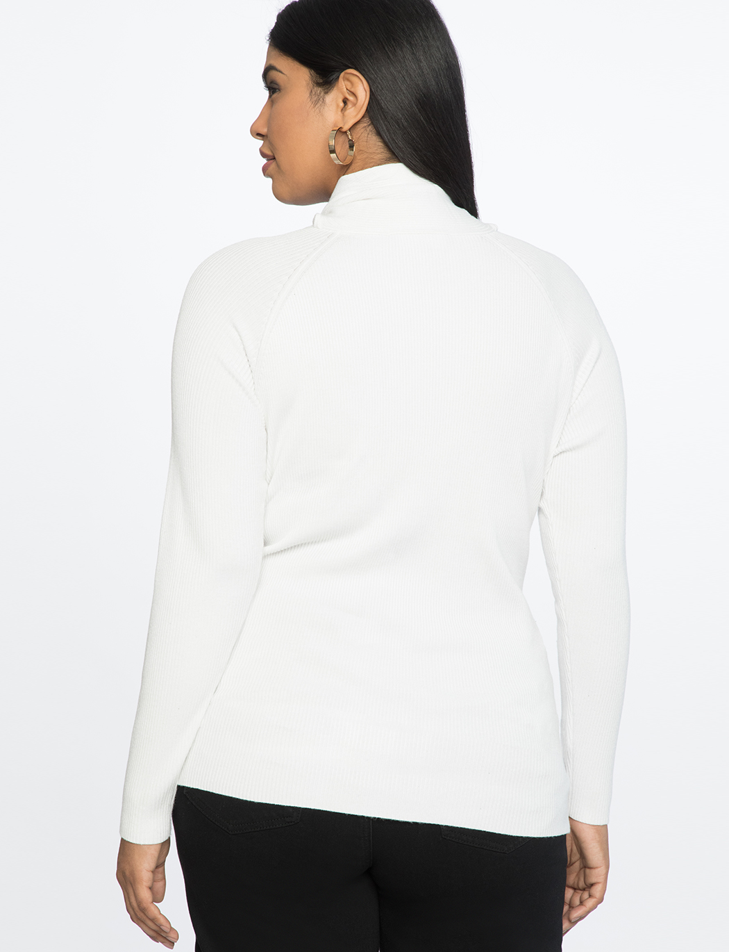 Turtleneck with Tie Detail