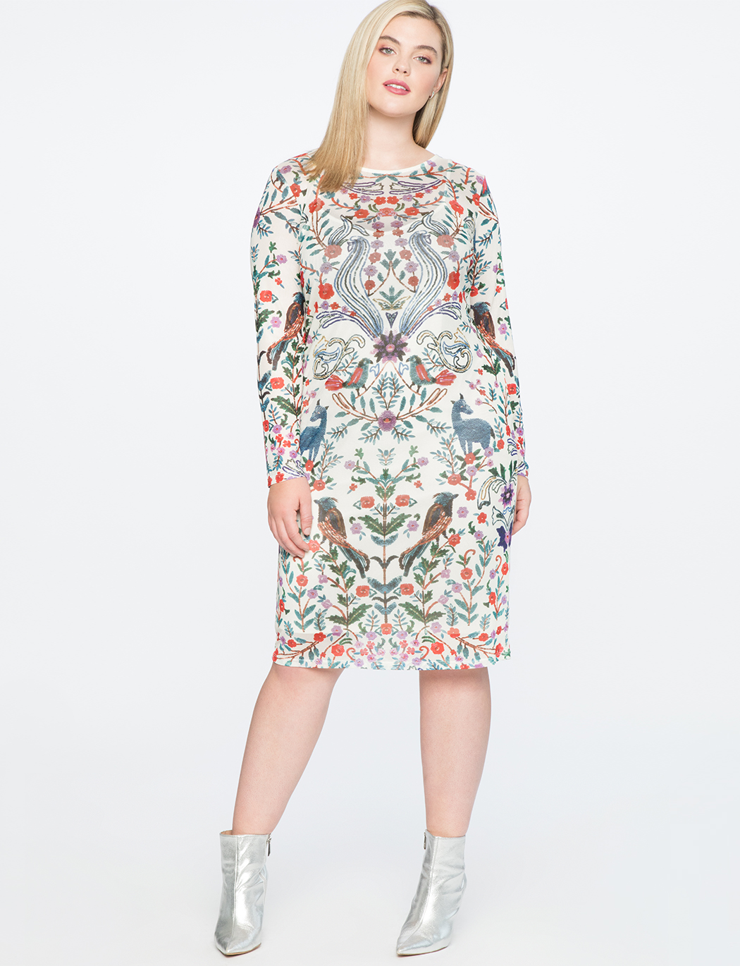 36b56dcc260 Printed Shift Dress