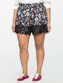 Floral Scalloped Shorts Dreamweaver Floral