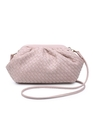 Woven Crossbody Bag Light Nude