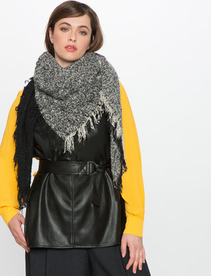 Two Tone Woven Scarf