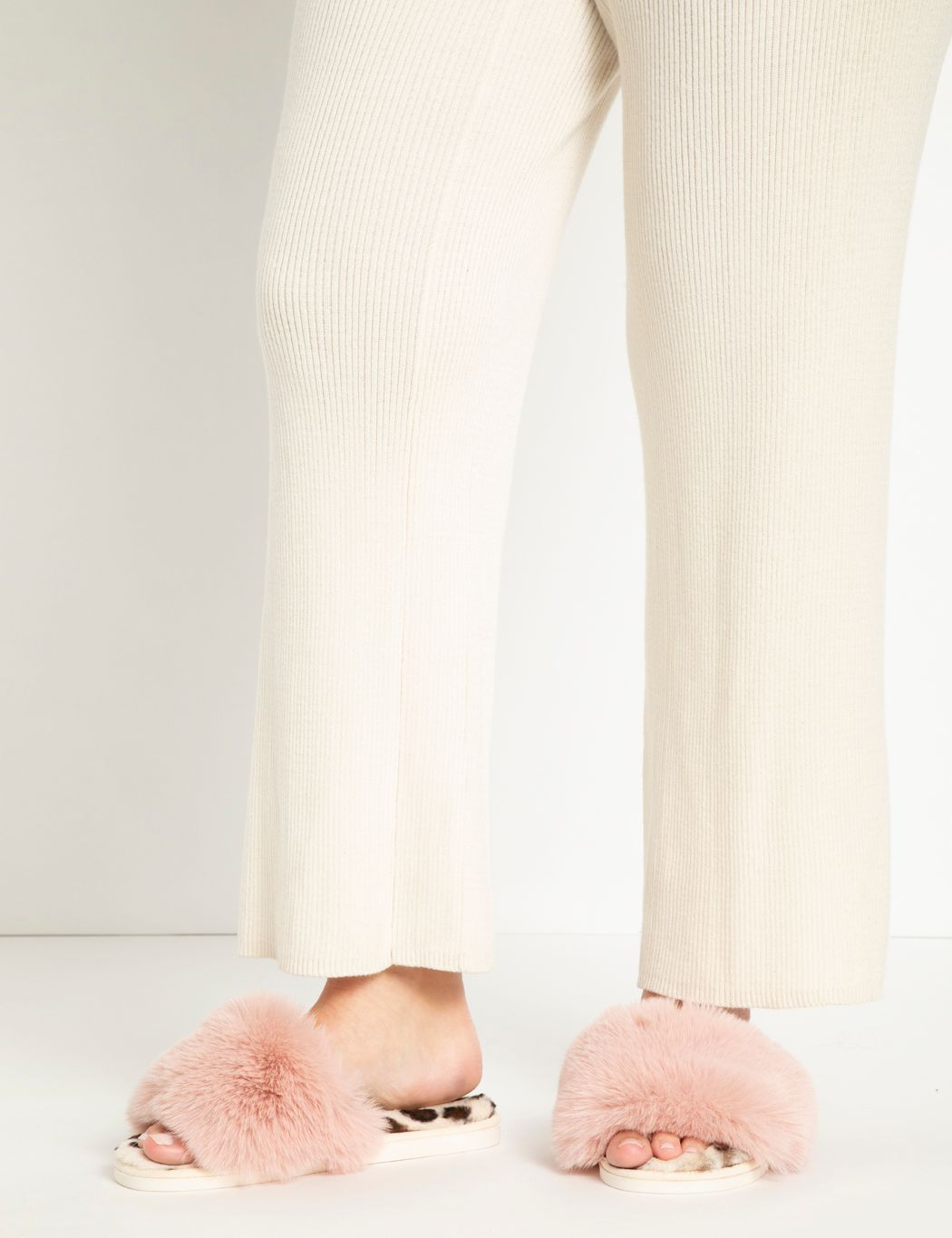 Vail Faux Fur Slippers