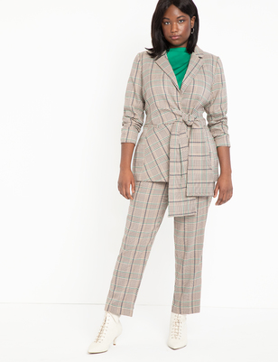 Plaid Kady Trouser