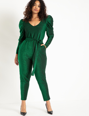 Lurex Knit Jumpsuit