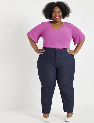 Viola Fit Kady Denim Pant