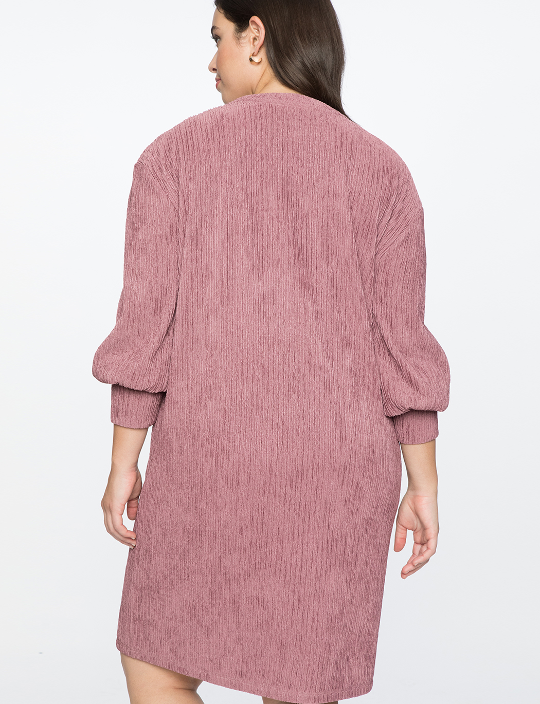 Dropped Shoulder Easy Dress