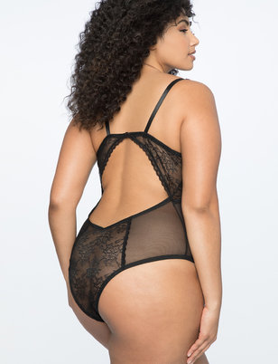 Strappy Underwire Bodysuit