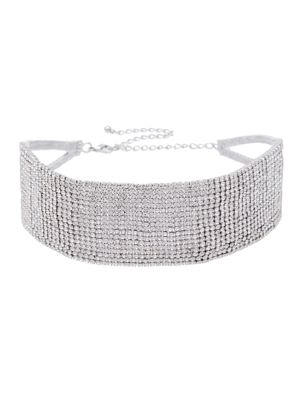 Crystal Statement Choker Necklace