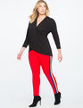 Miracle Flawless Side Stripe Leggings Jester Red