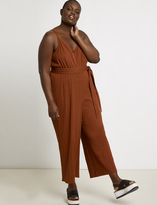 Wide Leg Jumpsuit Cover-up